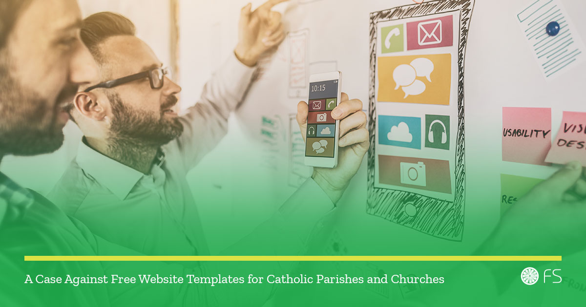 A Case Against Free Website Templates For Catholic Parishes And - Freewebsitetemplates