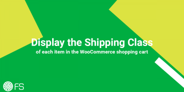 How to display the Shipping Class of each item in the WooCommerce shopping cart